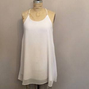 White Shirt Dress or Belted Tunic